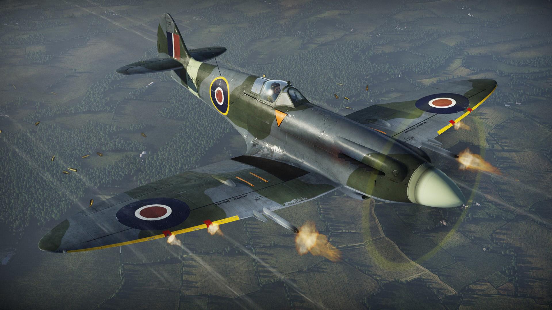 Development Spitfire Mk Xivc War Thunder