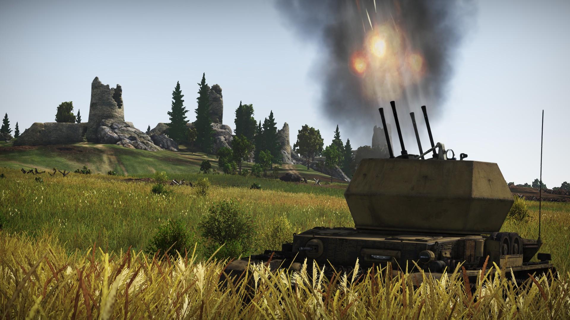 [Development]Flakpanzer IV 'Wirbelwind' - War Thunder