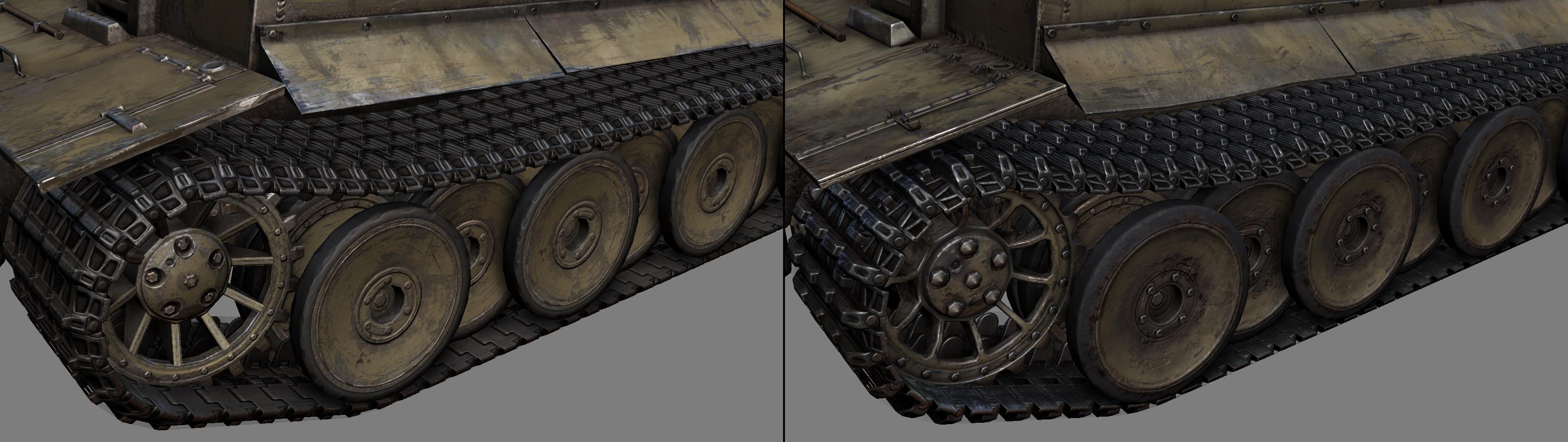 Development Panzerkampfwagen Vi 171 Tiger I 187 Model Update