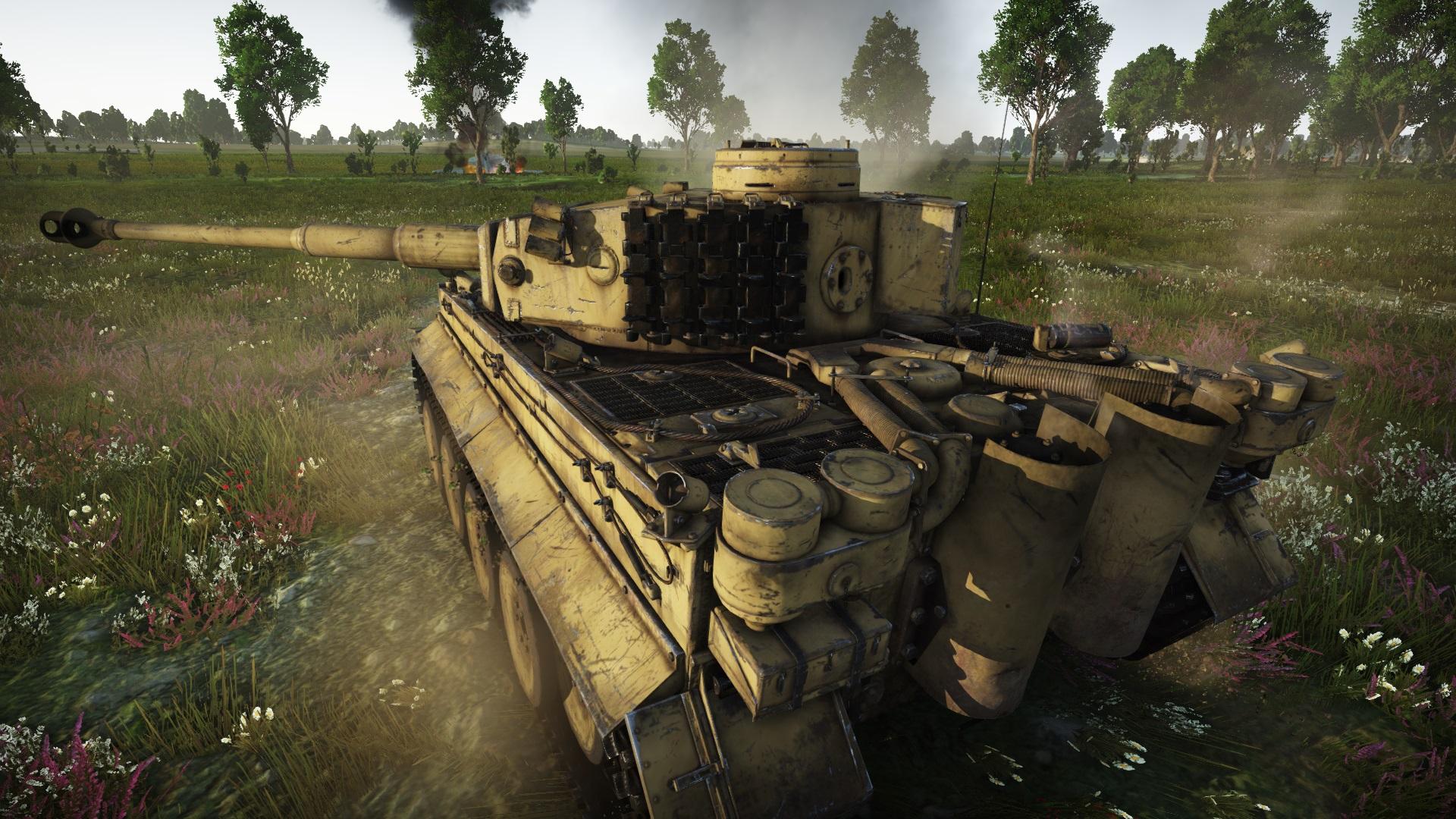 тигр 1 war thunder