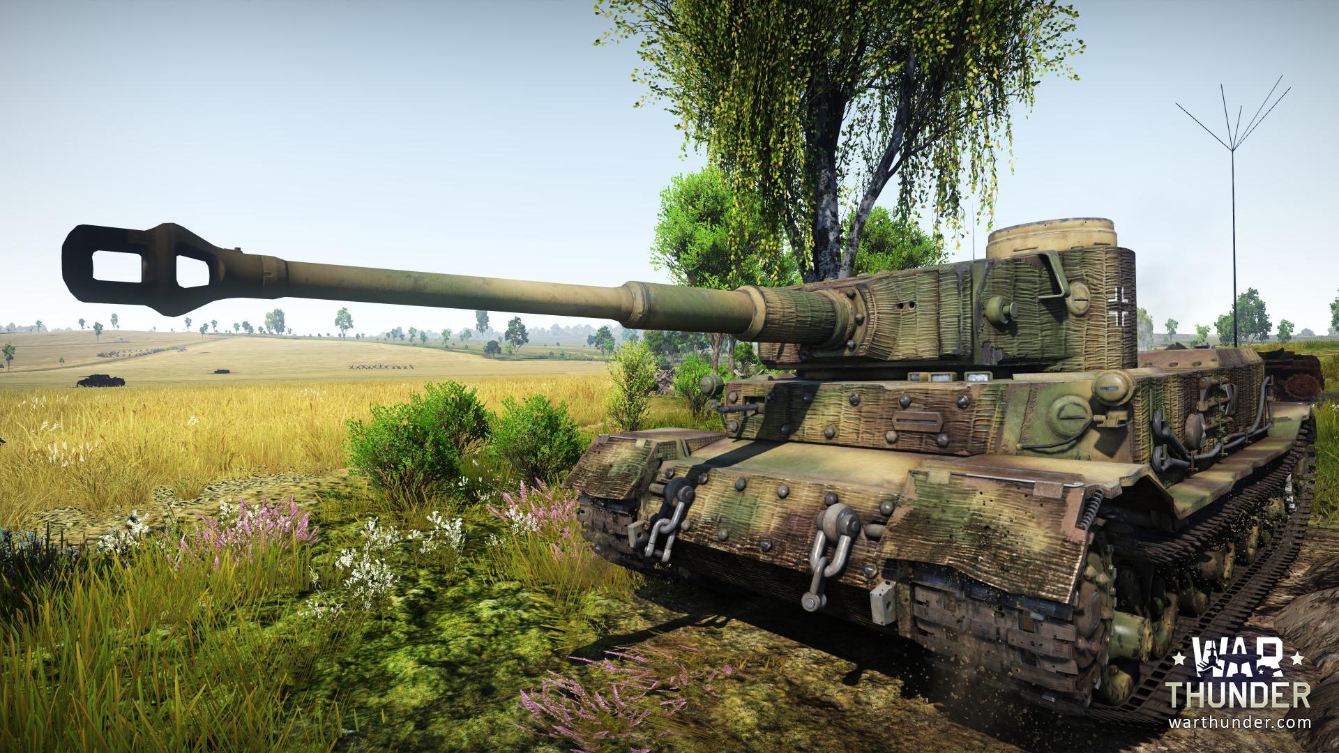 War thunder tiger p gameplayrj