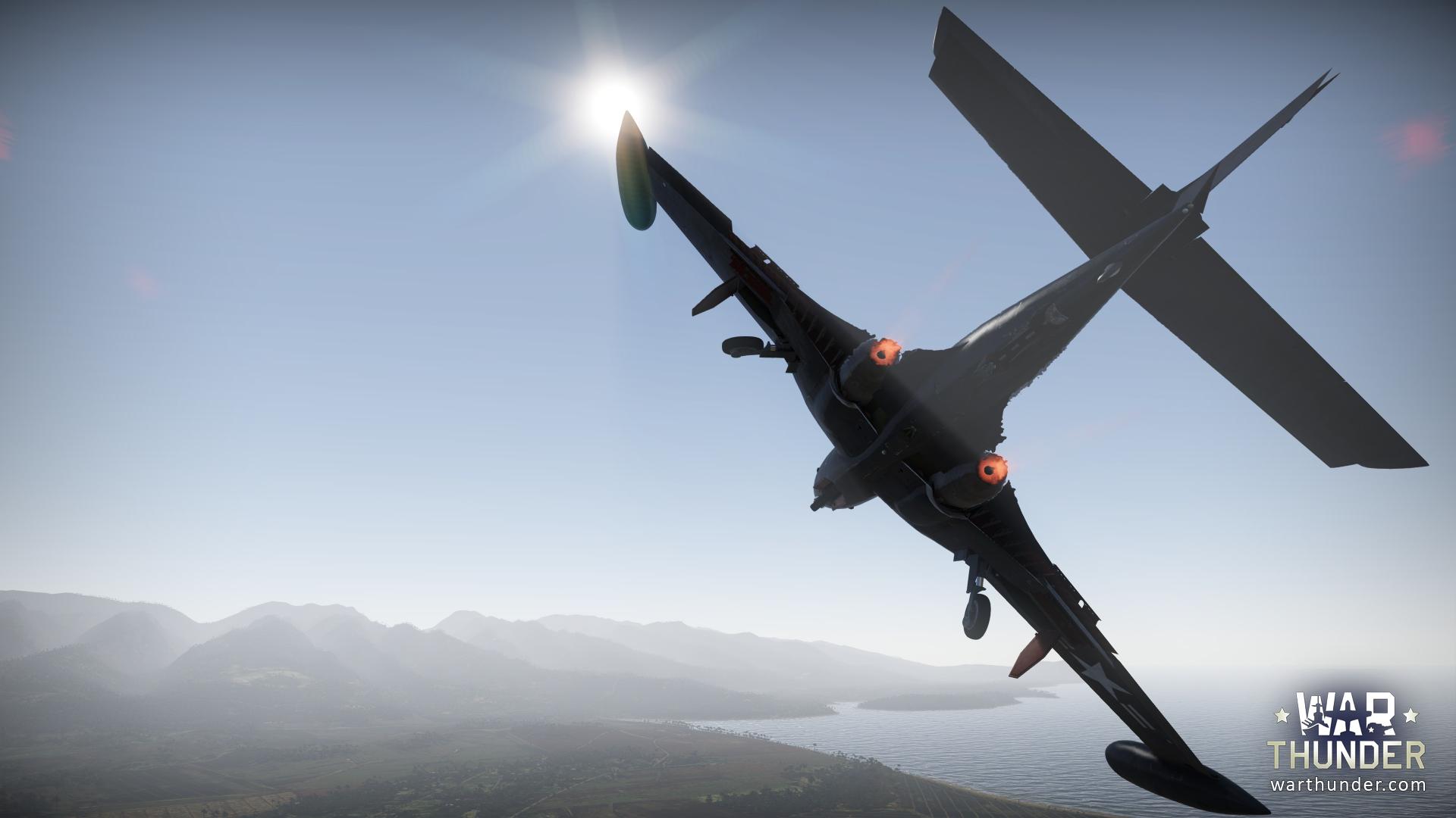 War thunder f2h