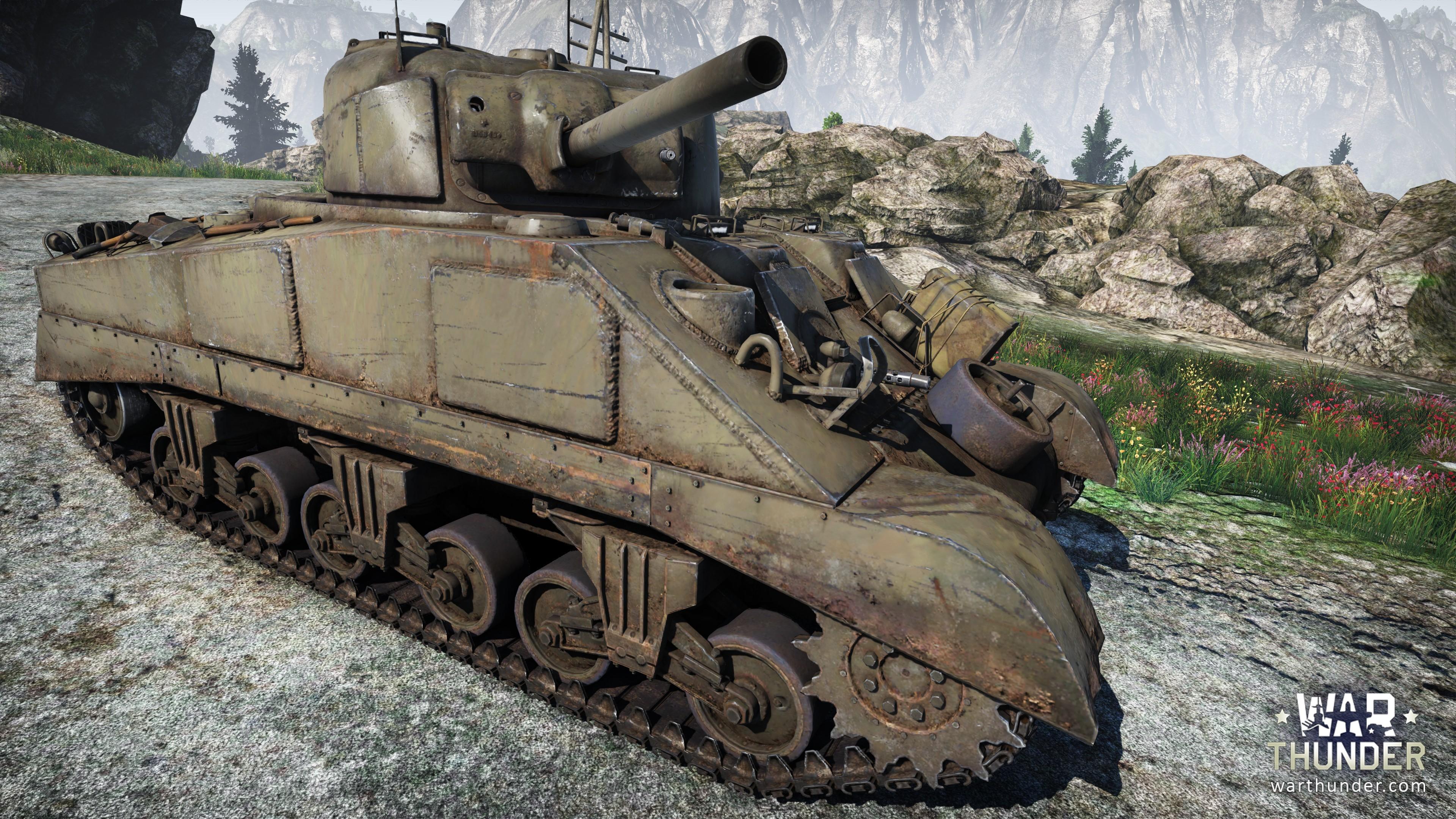 [Development]Steel Generals: M4 Sherman - War Thunder