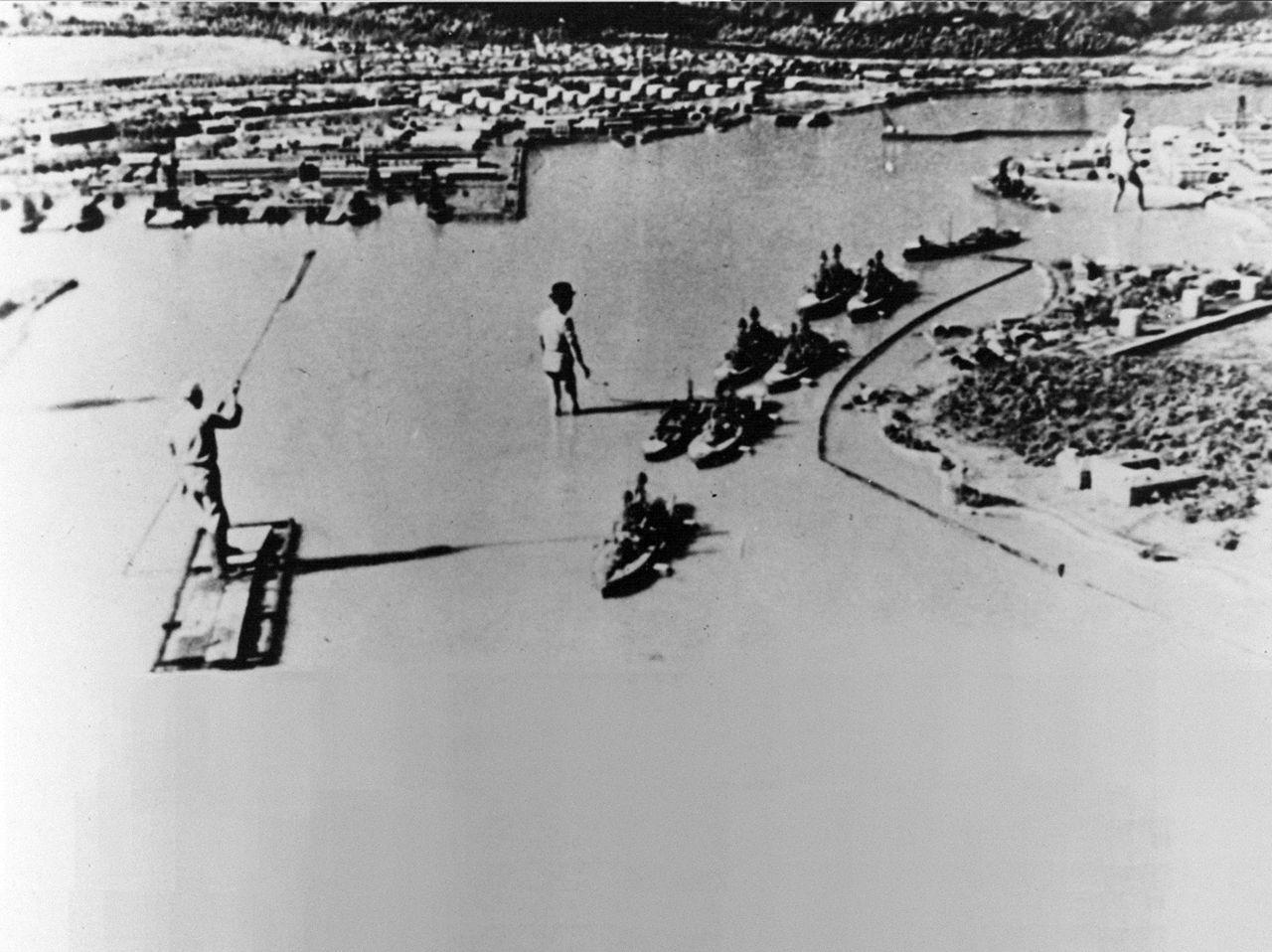 Le 7 décembre 1941,le Japon attaque Pearl Harbor Pearl4