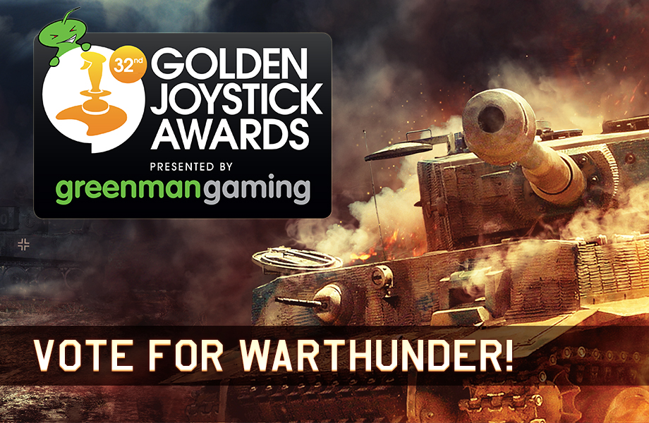 Golden Joystick Awards: Vote for War Thunder! - News - War ...