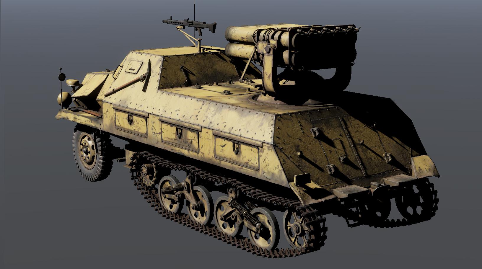 War Thunder - T25 Medium Tank and Panzerwerfer 42 Auf.Sf - The Armored Patrol