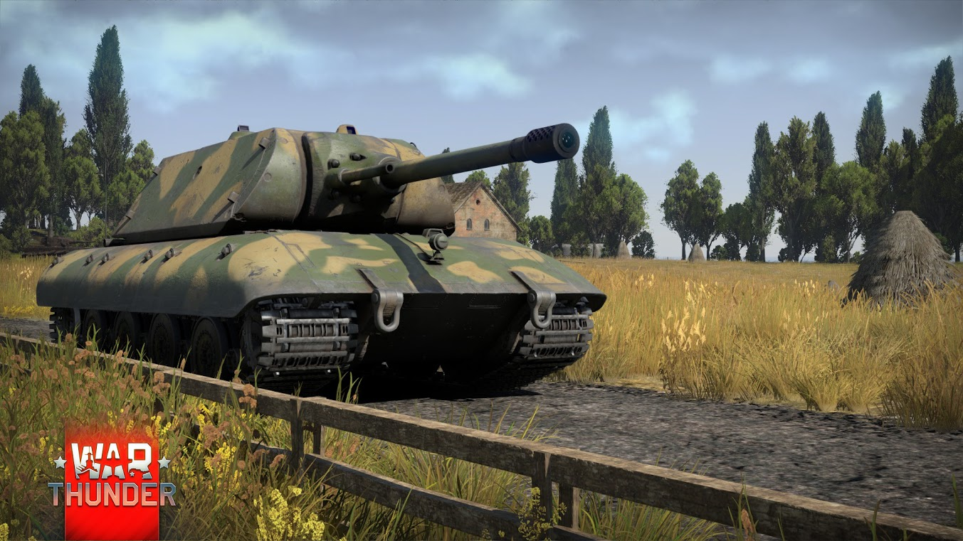 War Thunder – [Development] Pz.Kpfw. E-100 (with ...