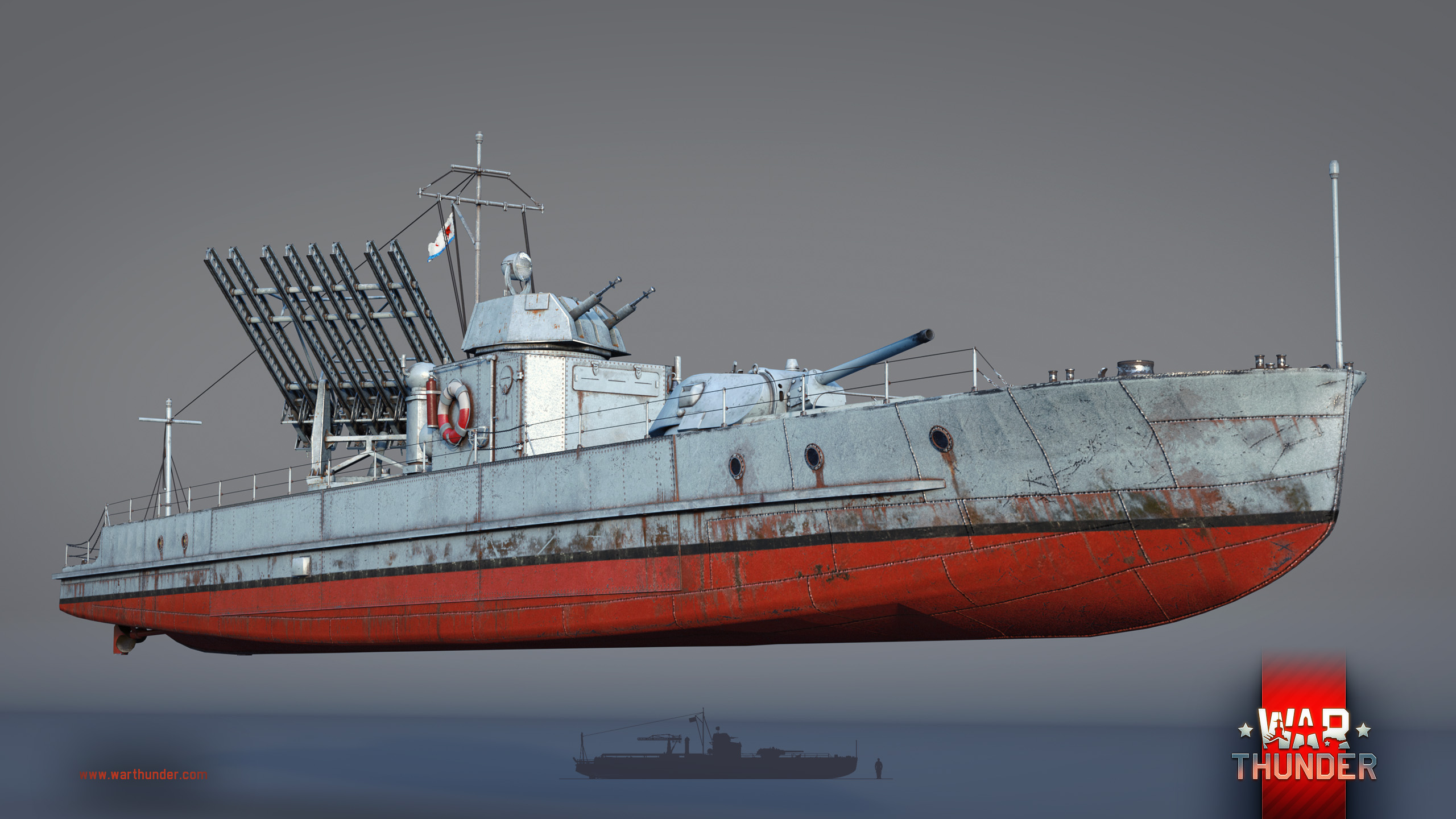 [Development] Project 1124 Armored River Boat: Waterborne Katyusha - News -  War Thunder