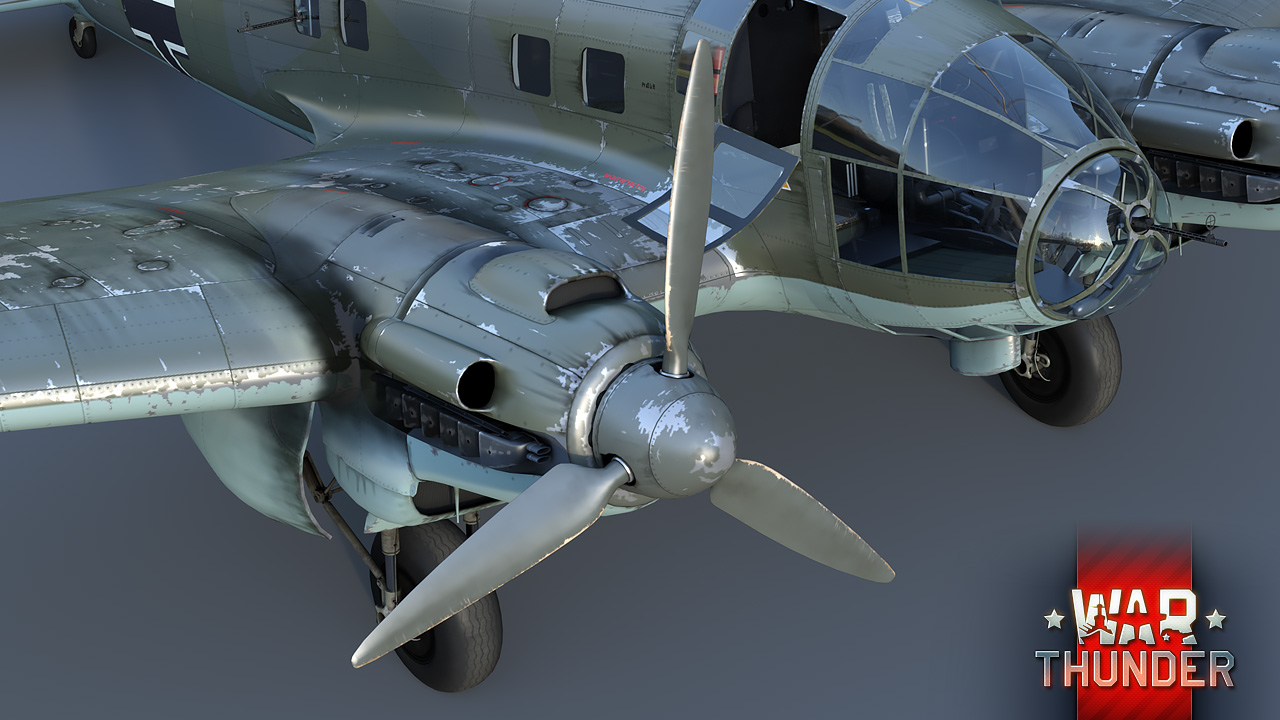 Development] Updated model of the He 111H-6 bomber - News