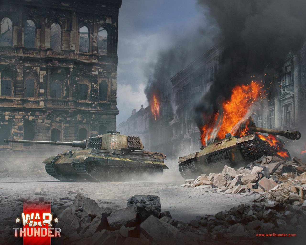 [Special] Tank Duels: Tiger II vs IS-2 - News - War Thunder