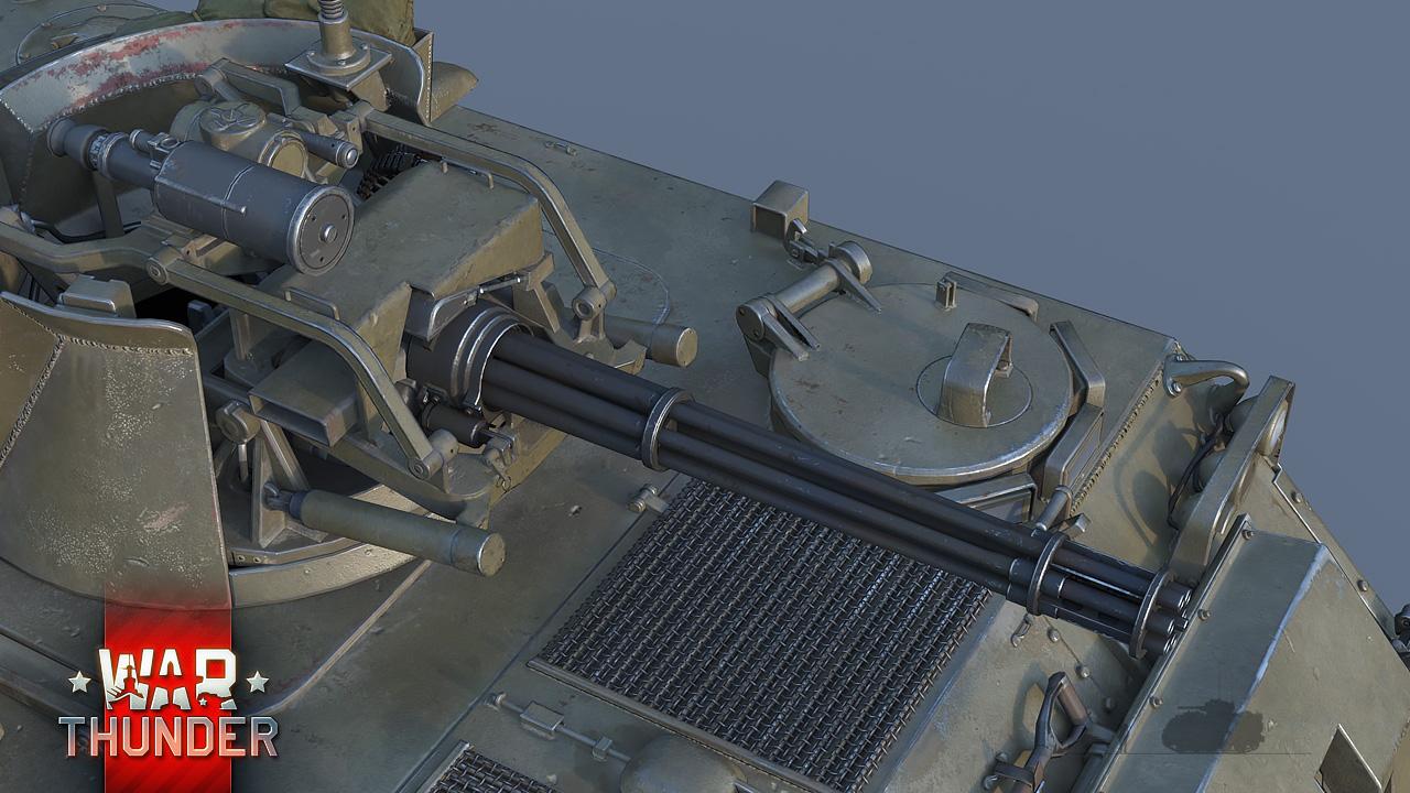 Development M163 Vulcan Gatling Fury News War Thunder