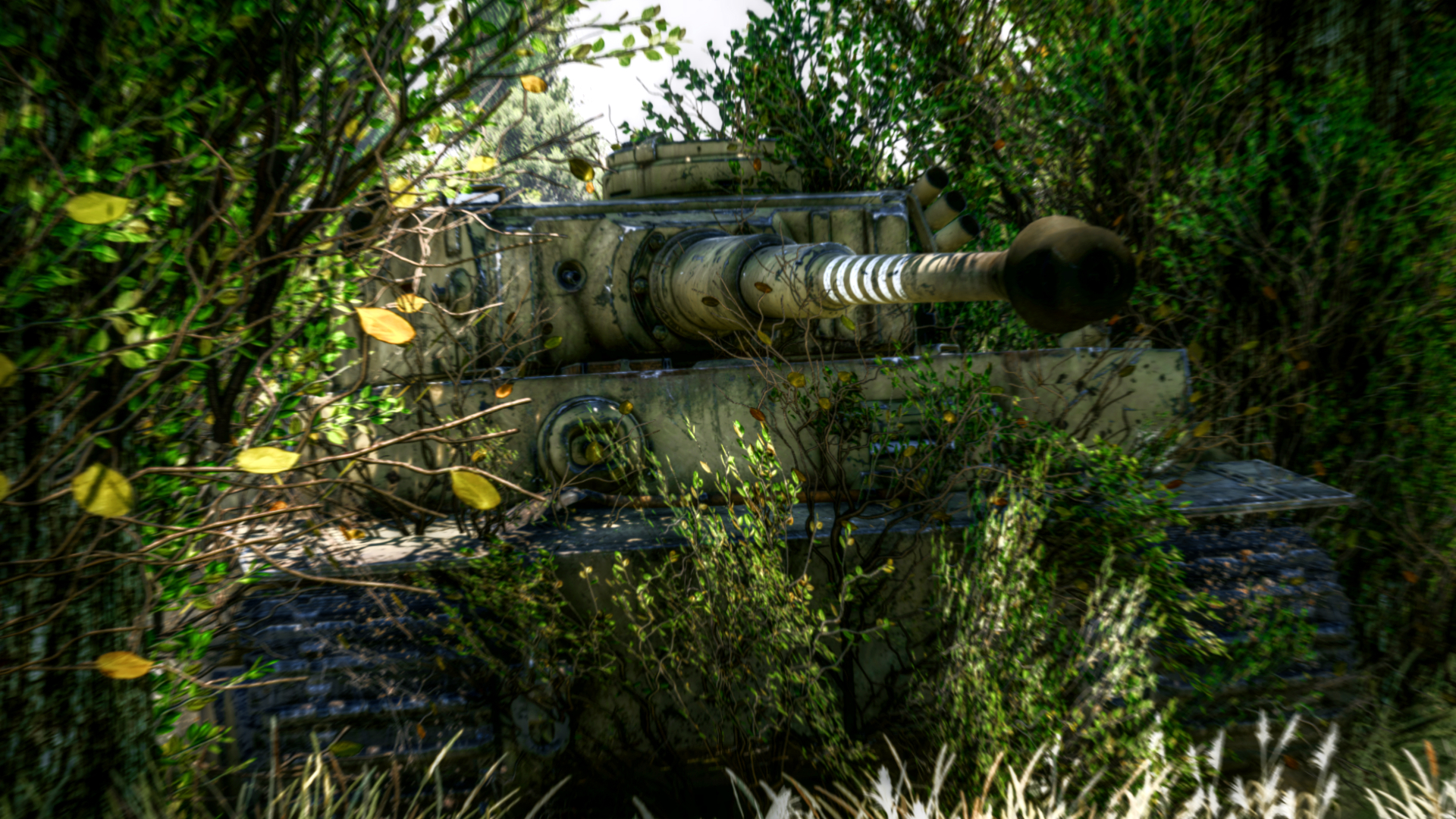 Perfil Pzkpfw Vi Tiger Ausf H1 Noticias War Thunder