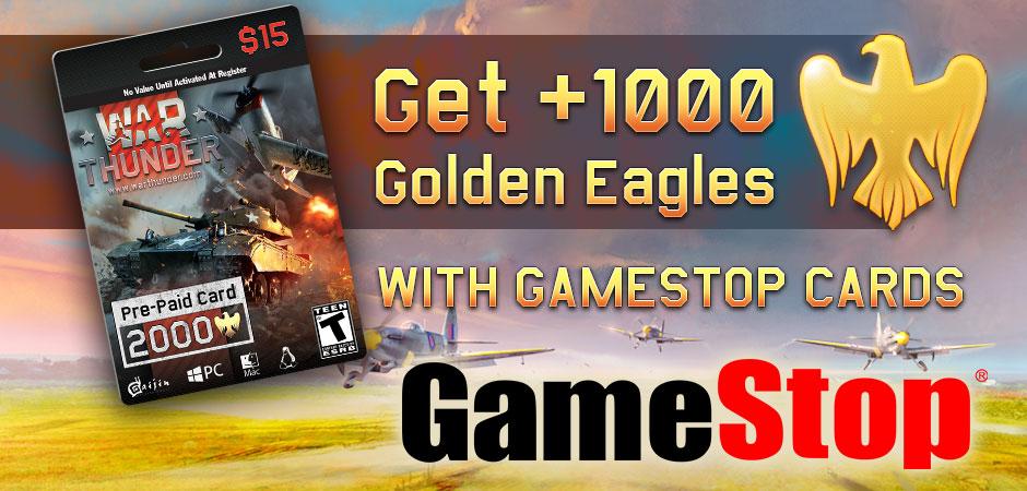 Shop GameStop special offer! - News - War Thunder