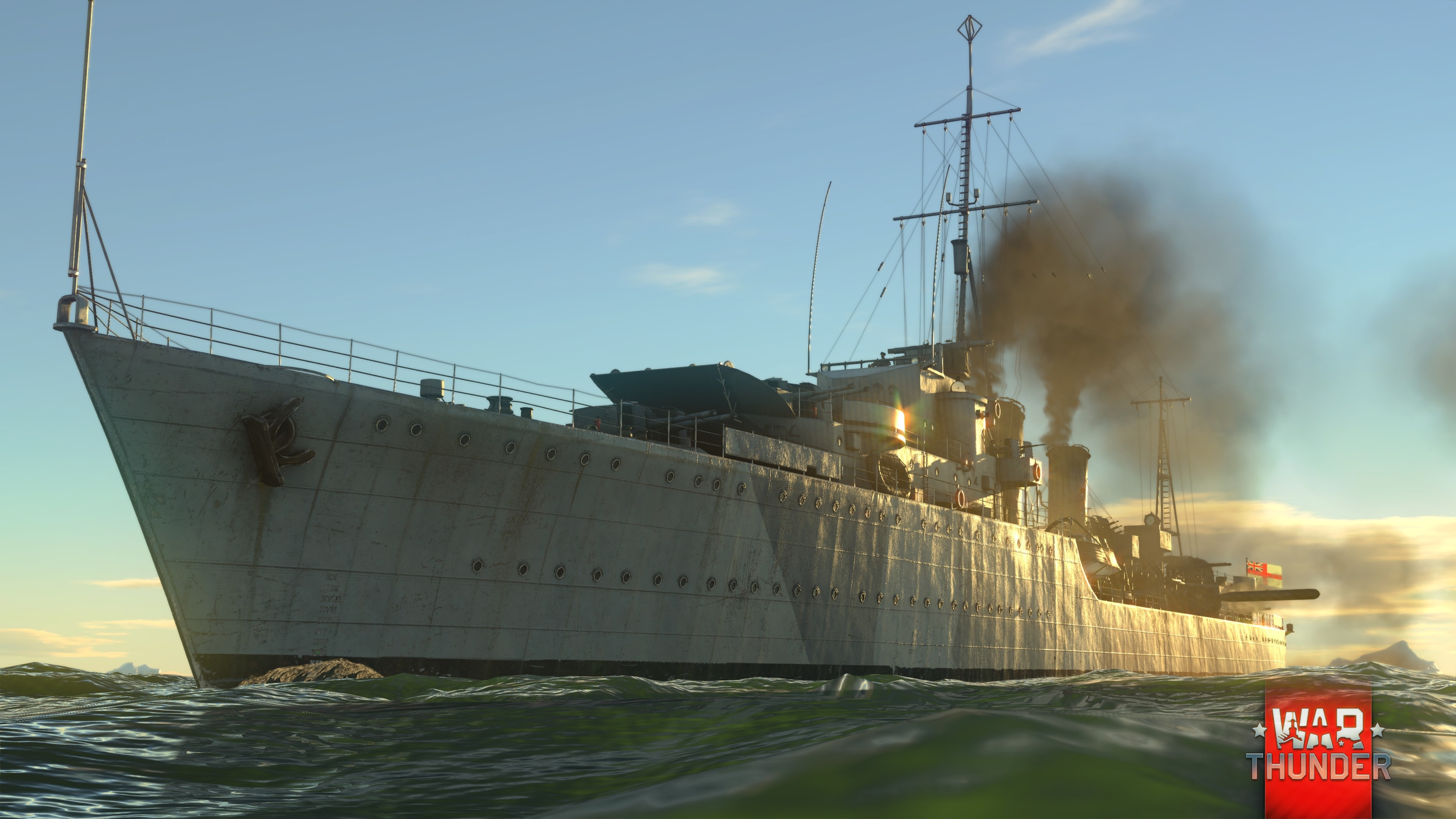Fleet] A new stage in Naval battle testing in War Thunder
