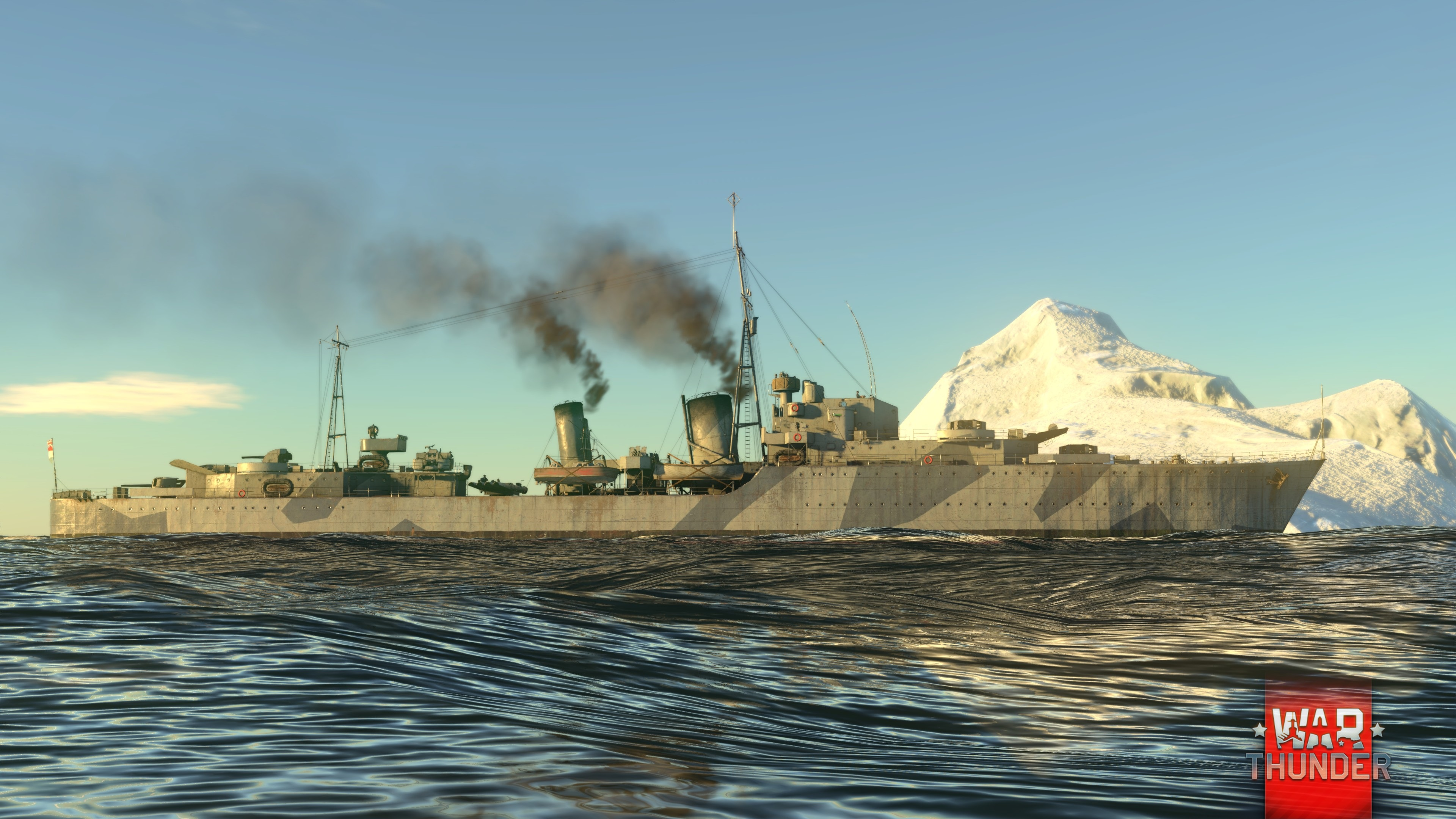 War Thunder :: [Fleet] A new stage in Naval battle testing