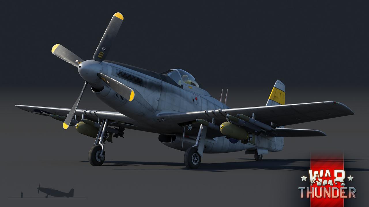 [War Thunder] ウォーサンダーRB実況 #21 P-51H - YouTube