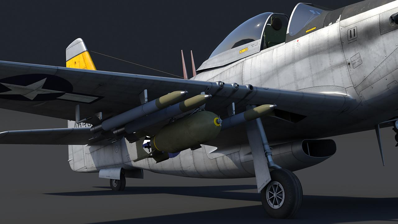 War Thunder – P-51H Mustang – The Armored Patrol
