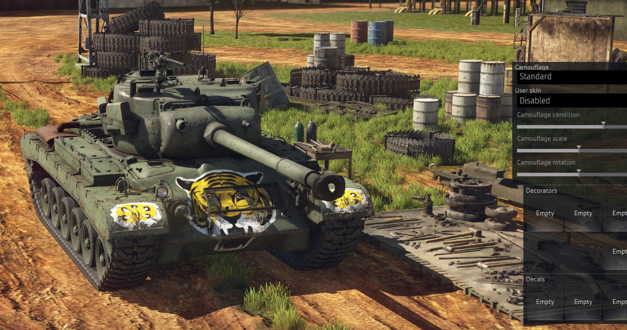 war thunder all camouflages