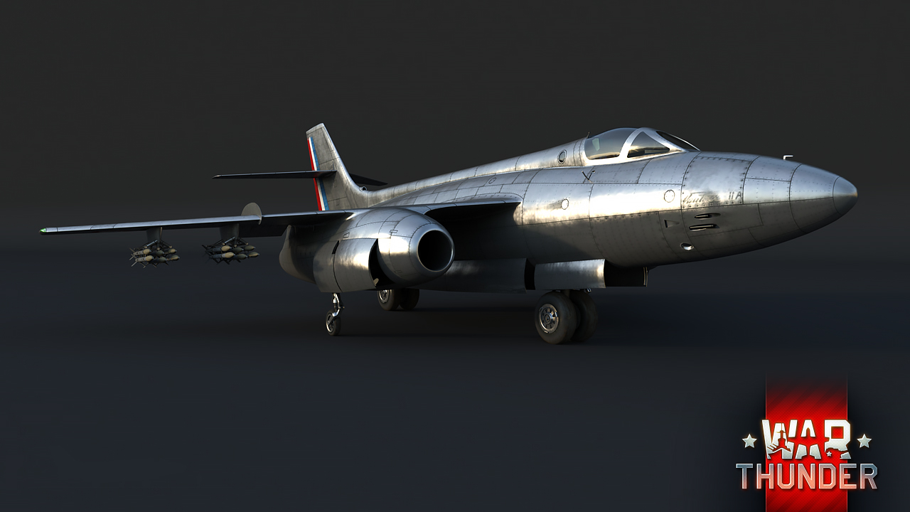 [Vehicles in game] SO.4050 IIA Vautour - Circling The Prey ...