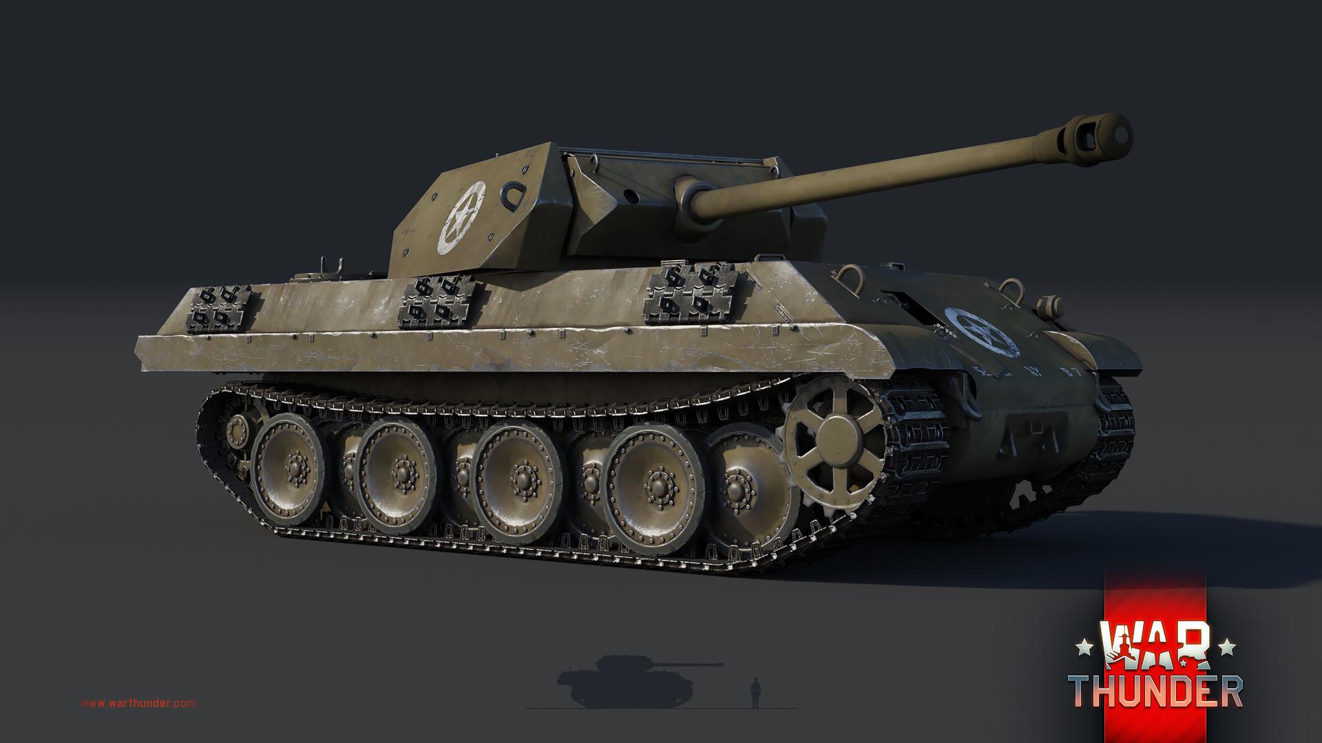 Panther Ersatz M10: Master of Sabotage - News - War Thunder