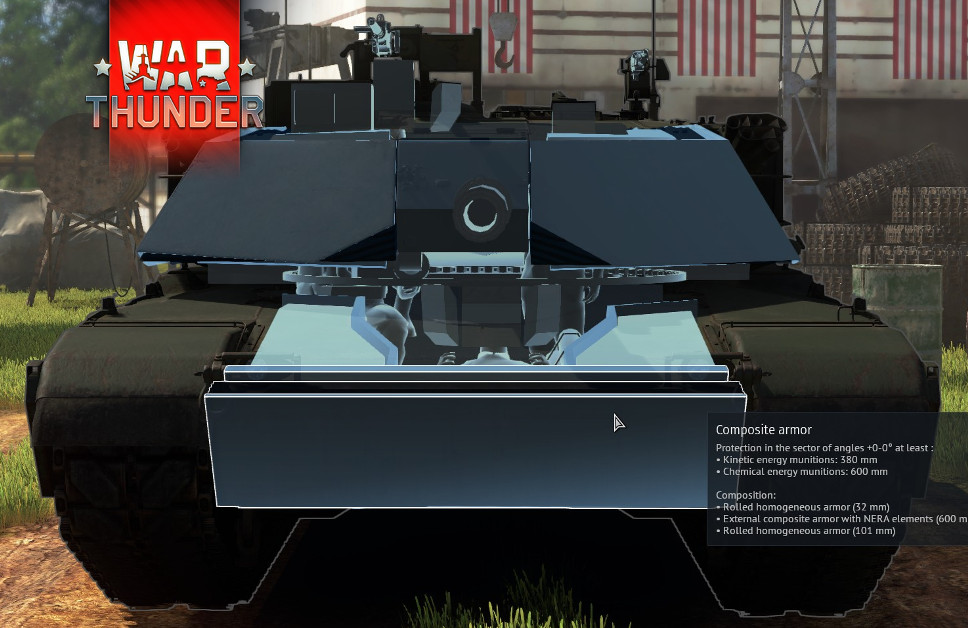 M1 Abrams's hull