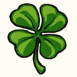 """Four-leaf Clover"" decal"