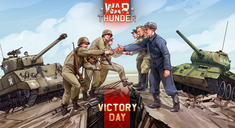 Victory Day With War Thunder