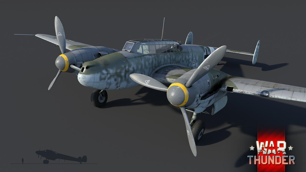 Development] Messerschmitt Bf 110 model updates, new