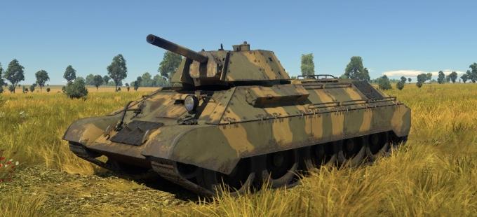 T-34E camouflage