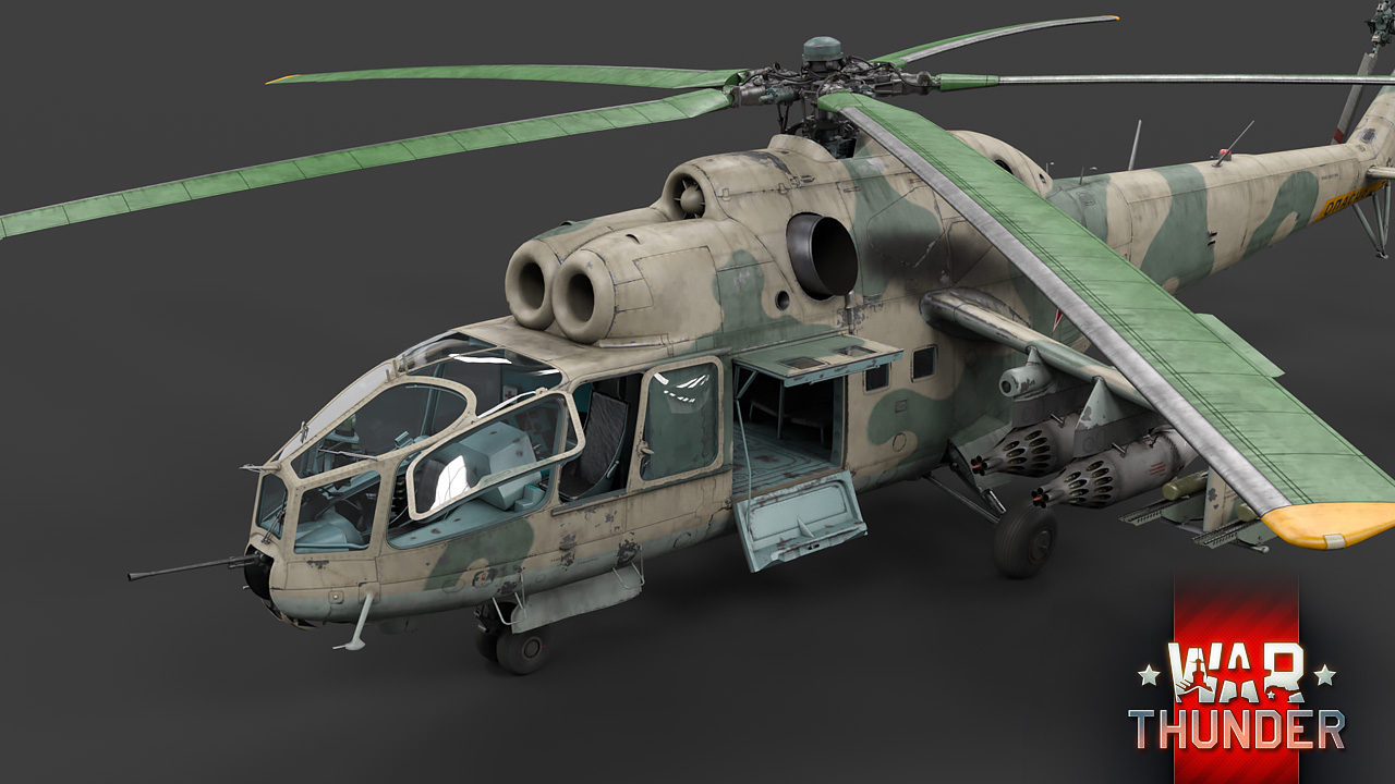 War Thunder: Mi-24A: The impeccable Hind – The Armored Patrol