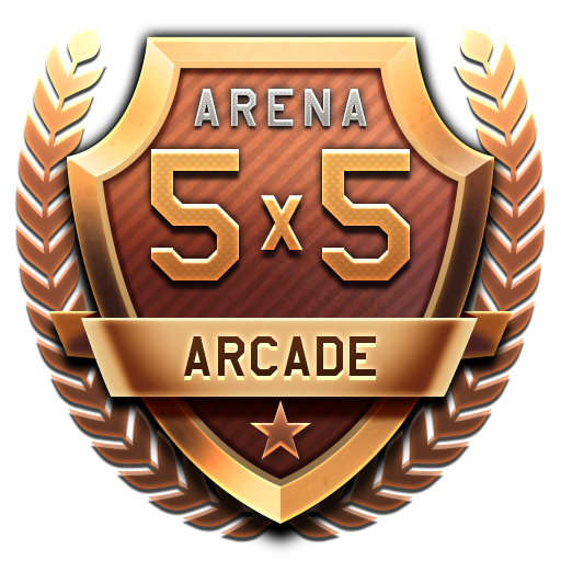 ARENA Combined Arms Tournament 5x5 in Arcade Battles