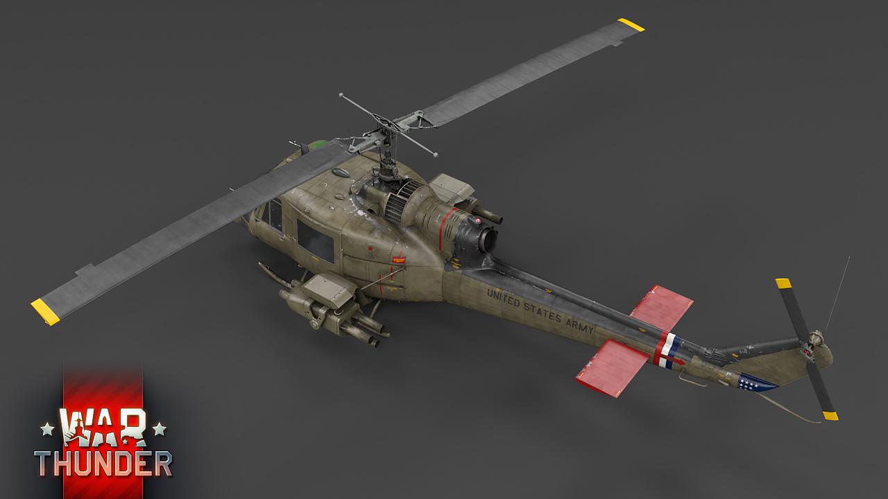 Development] UH-1 and Mi-4: Early Birds - News - War Thunder