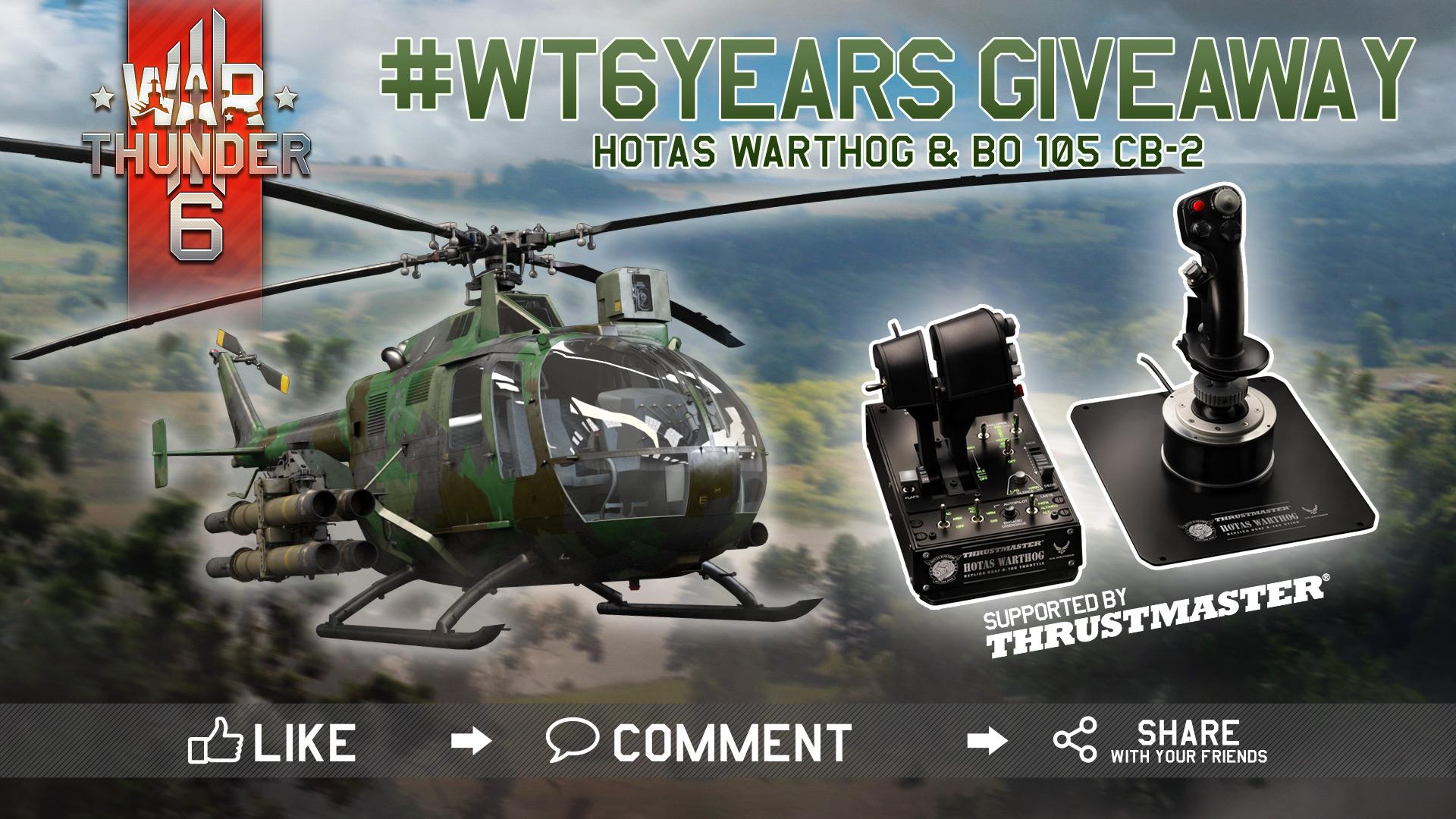 Giveaway] Get Thrustmaster HOTAS Warthog for War Thunder's