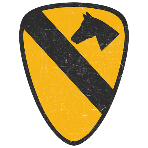 Emblem of the 1st Cavalry Division