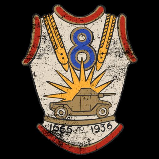 Emblem of the 8th Dragoon Regiment