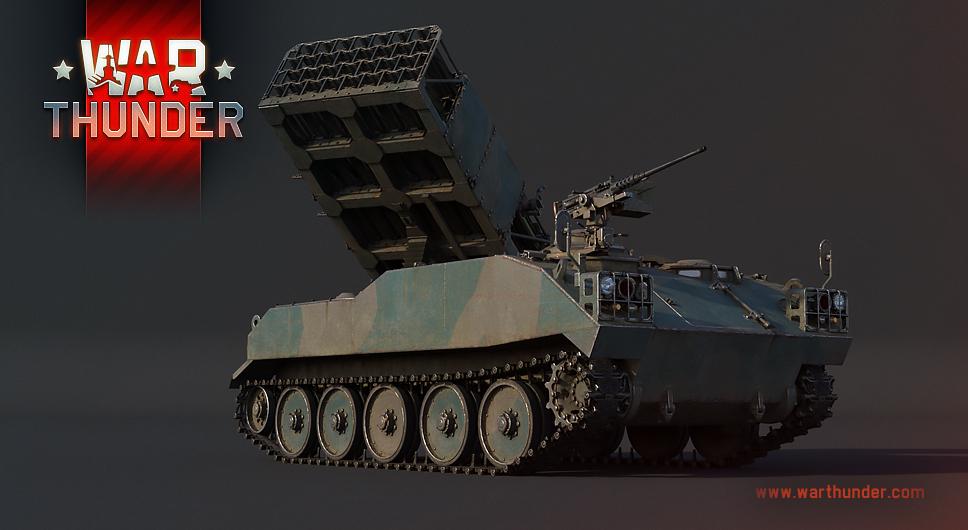 Development] Type 75 Multiple Rocket Launcher: Explosive