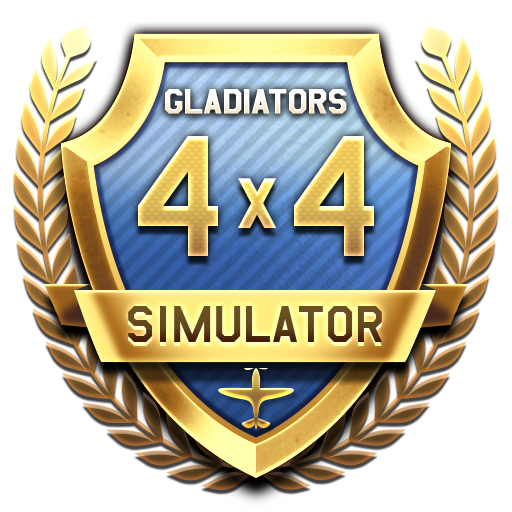 """Gladiators"" 4x4 Air Tournament in Simulator Battles mode"