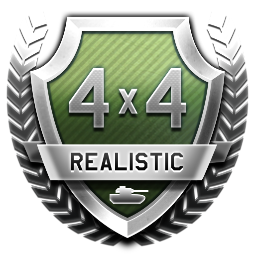 """Steel Legion"" 4x4 Tank Tournament in Realistic Battles mode"