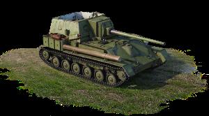 SU-85A  (USSR, 2nd rank)