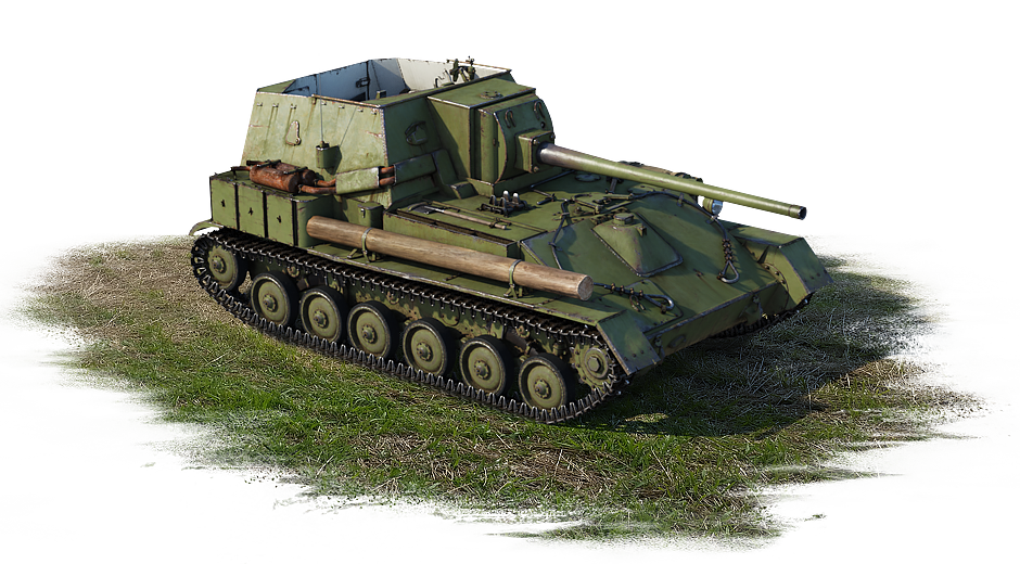 SU-85A  (USSR, 2nd rank)