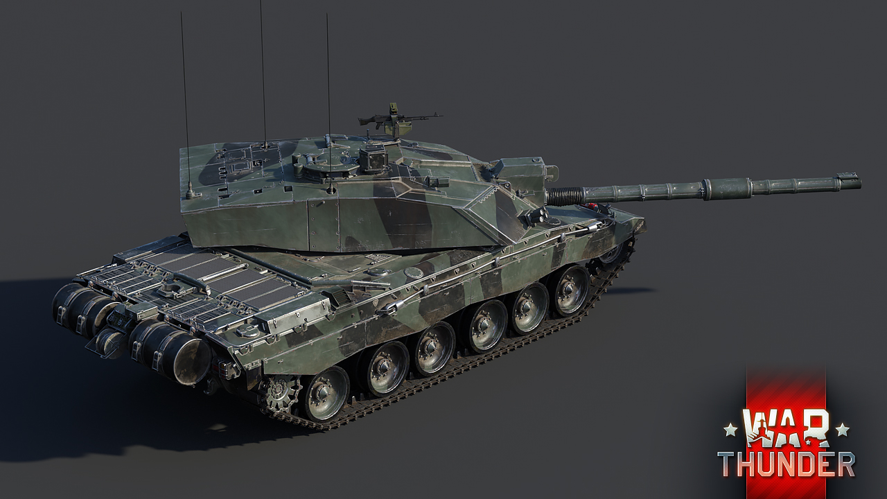 Development] Challenger 2 and rank VII armored vehicles - News - War