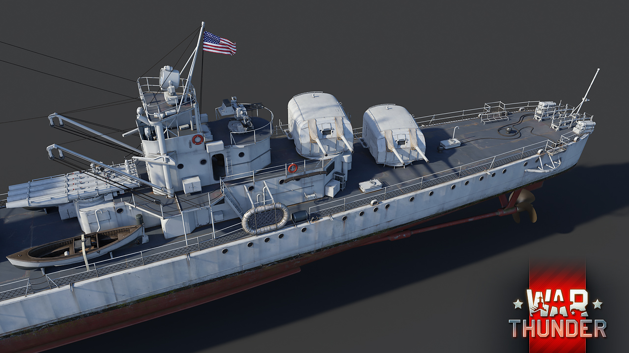 Development] USS Somers (DD-381): Strength in Numbers (3