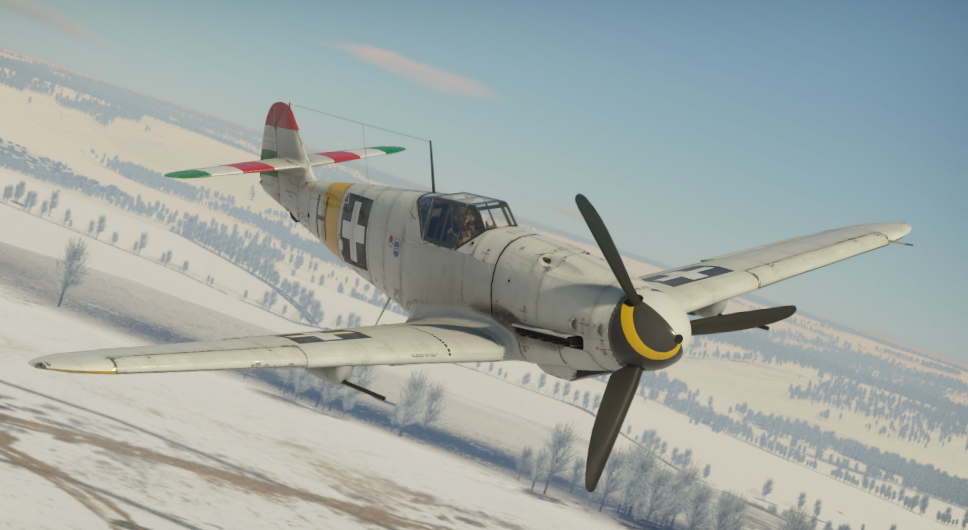 News] Hungarian Bf 109G-2 in the Italian Tree - News - War