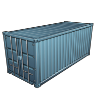 Shipping container (Basic materials)
