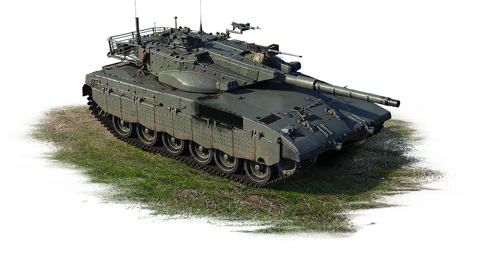 Merkava Mk.2b USA, rank VI (event vehicle)