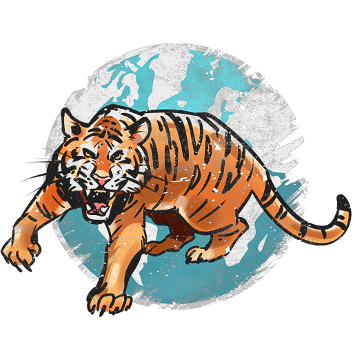"Season decal ""Tiger of War"""