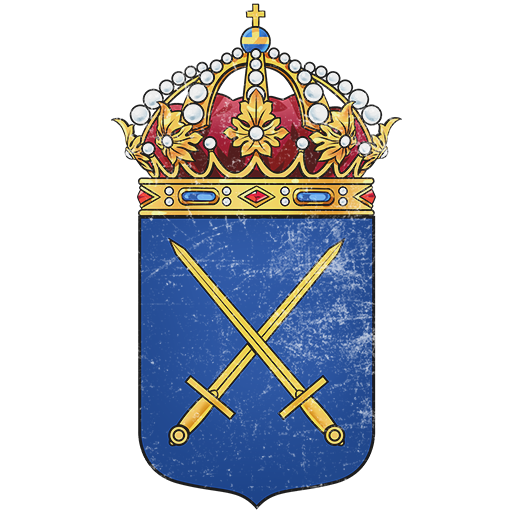 Swedish Land Forces Coat of Arms