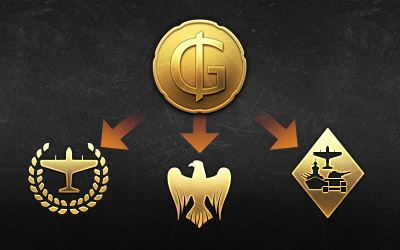 GJN will be accepted not only on the Market, but also in the premium shop, so you can pay 100% of the cost of premium vehicles, Golden Eagles packs or premium account time with them!