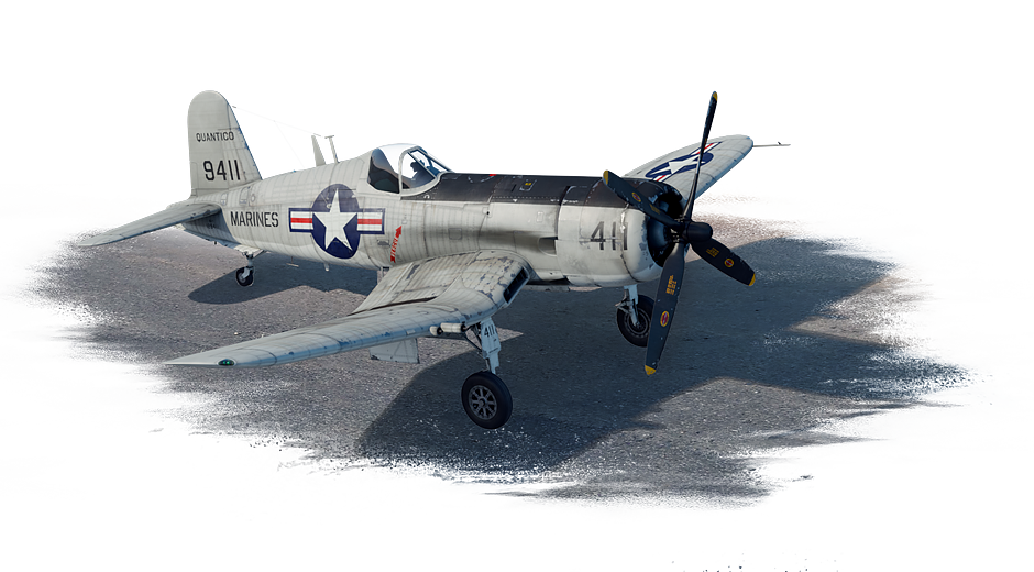 AU-1 Corsair (USA) — premium, rank IV