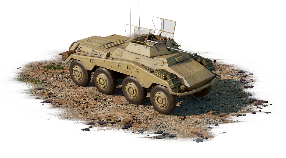 Sd.Kfz.234/1 (Germany) — premium, rank I